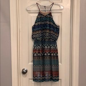 Dresses & Skirts - Colorful tribal dress size S